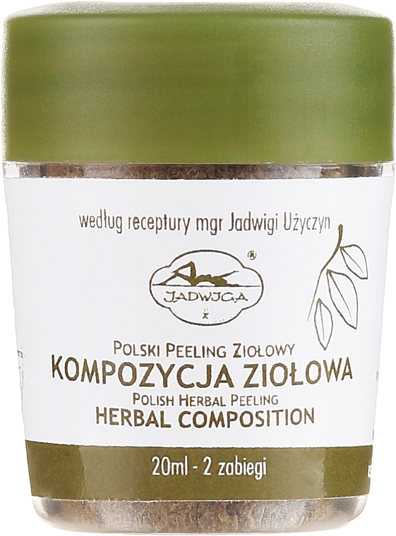 Gesichtspeeling - Jadwiga Herbal Composition Peeling