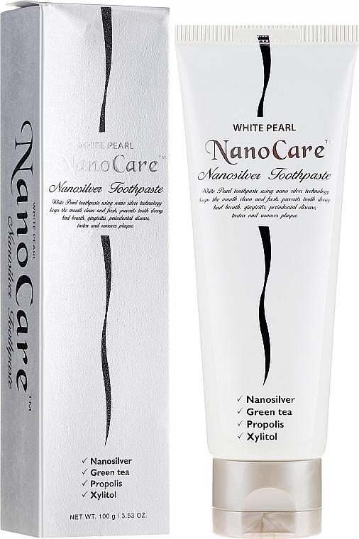 Zahnpasta mit kolloidem Silber - VitalCare White Pearl NanoCare Toothpaste — Bild N1