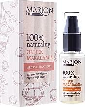 Düfte, Parfümerie und Kosmetik 100% Natürliches Macadamiaöl für Haar, Körper und Gesicht - Marion Eco Oil