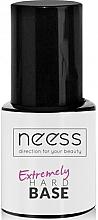 Düfte, Parfümerie und Kosmetik Base für Nagellack rosa - Neess Extremely Hard Base