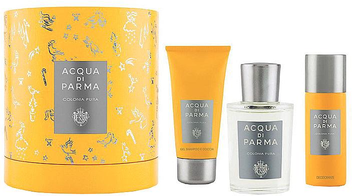 Acqua Di Parma Colonia Pura - Duftset (Eau de Cologne/100ml + Duschgel/75ml + Deodorant/50ml)