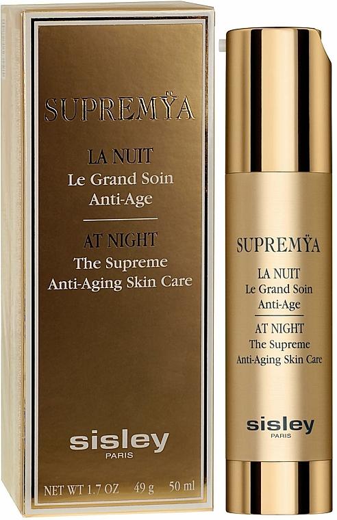 Anti-Aging Gesichtscreme für die Nacht - Sisley Supremya At Night The Supreme Anti-Aging Skin Care — Bild N1