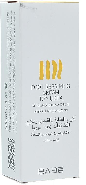 Regenerierende Fußcreme mit 10% Urea - Babe Laboratorios Foot Repairing Cream 10 % Urea