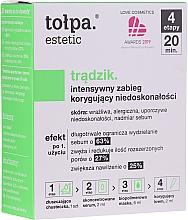 Düfte, Parfümerie und Kosmetik 4-Schritte Gesichtspflege gegen Hautunvollkommenheiten - Tolpa Estetic 4 Step Intensive Treatment Care