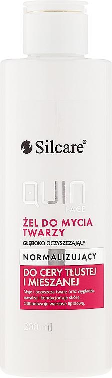 Normalisierendes Gesichtsreinigungsgel - Silcare Quin Face