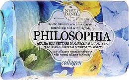 Düfte, Parfümerie und Kosmetik Naturseife Collagen - Nesti Dante Natural Soap Azalea, Ambrosia and Starfruit Philosophia Collection