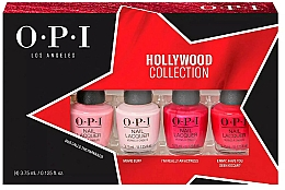 Düfte, Parfümerie und Kosmetik Nagelpflegeset - O.P.I. Hollywood Collection Nail Lacquer Set (Nagellack 4x3.75ml)
