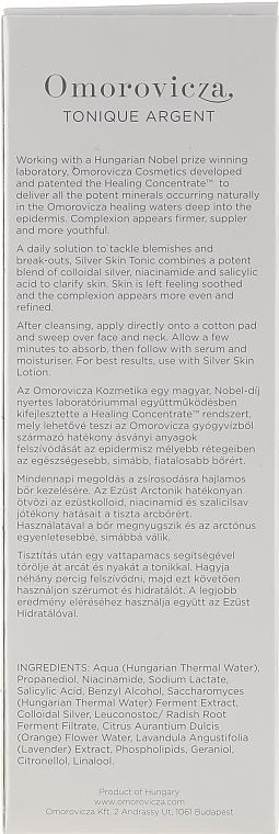Klärendes und porenreinigendes Gesichtstonikum - Omorovicza Silver Skin Tonic — Bild N3