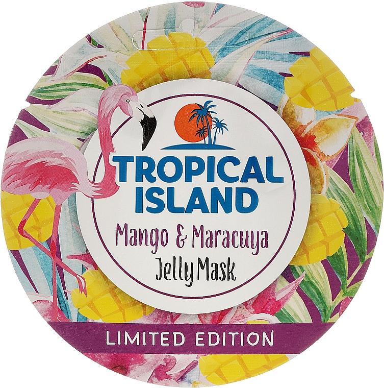 Gelee-Maske für das Gesicht mit Mango und Maracuja - Marion Tropical Island Mango & Maracuya Jelly Mask