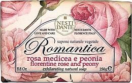 Düfte, Parfümerie und Kosmetik Naturseife Florentine Rose & Peony - Nesti Dante Natural Soap Romantica Collection