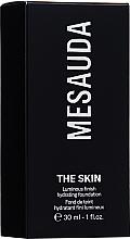 Düfte, Parfümerie und Kosmetik Feuchtigkeitsspendende Foundation - Mesauda Milano The Skin Luminous Finish Hydrating Foundation