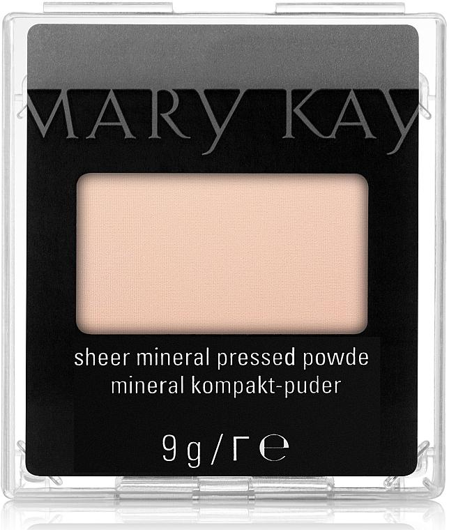 Kompaktes Mineralpuder für Gesicht - Mary Kay Sheer Mineral Pressed Powder