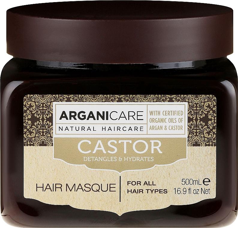Haarmaske zum Haarwachstum mit Rizinusöl - Arganicare Castor Oil Hair Masque — Bild N3