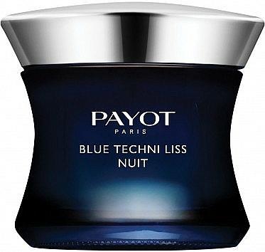 Regenerierende Anti-Aging Nachtcreme mit blauem Mönchspfeffer und Andornextrakt - Payot Blue Techni Liss Nuit