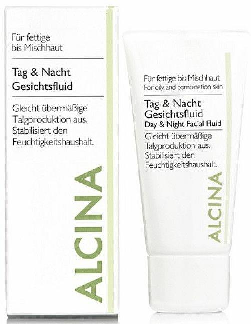 Seboregulierendes Gesichtsfluid für Tag und Nacht - Alcina FM Day and Night Facial Fluid