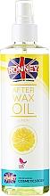 Düfte, Parfümerie und Kosmetik Lindenöl zur Behandlung nach der Haarentfernung mit Wachs - Ronney Wax Oil Lemon
