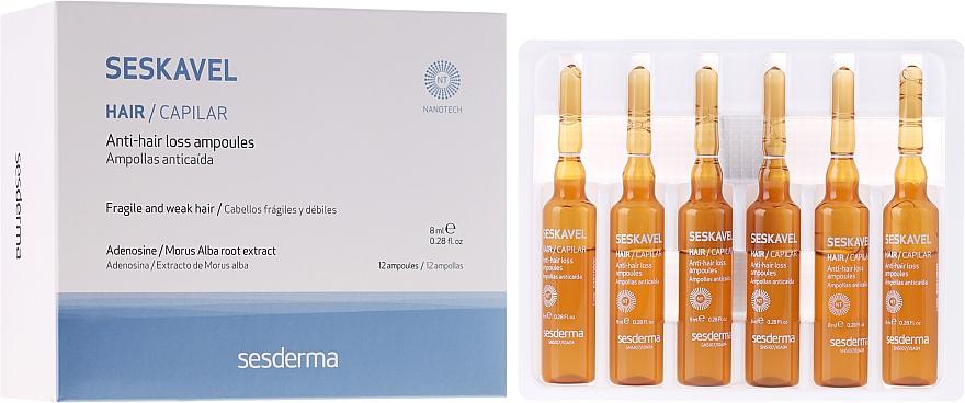 Ampullen gegen Haarausfall - SesDerma Laboratories Seskavel Anti-Hair Loss Aampoules