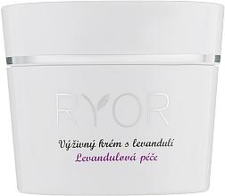 Düfte, Parfümerie und Kosmetik Pflegende Gesichtscreme mit Lavendel - Ryor Lavender Nourishing Face Cream