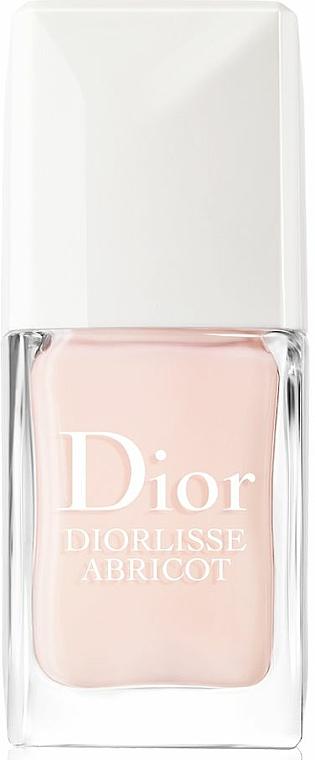 Glättende und kräftigende Nagelpflege - Dior Diorlisse Abricot Smoothing Perfecting Nail Care