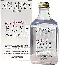 Düfte, Parfümerie und Kosmetik Tonisierendes und feuchtigkeitsspendendes Rosenwasser - ARI ANWA Skincare Rose Quartz Rose Water