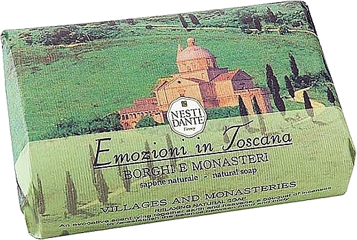 Naturseife Villages & Monasteries - Nesti Dante Natural Soap Emozioni in Toscana Collection
