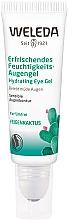 Düfte, Parfümerie und Kosmetik Erfrischendes Augengel mit Feigenkaktus - Weleda Hydrating Eye Gel Roll-on