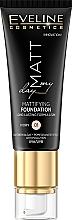 Düfte, Parfümerie und Kosmetik Langanhaltende Foundation mit Algen- und Granatapfelextrakten - Eveline Cosmetics Matt My Day Mattifying Foundation