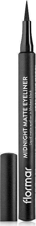 Matter Eyeliner - Flormar Midnight Matte Eyeliner