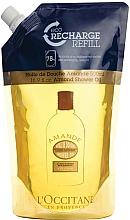 Düfte, Parfümerie und Kosmetik Feuchtigkeitsspendendes Duschöl mit Mandel - L'Occitane Almond Shower Oil (Doypack)