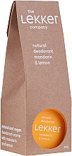 Düfte, Parfümerie und Kosmetik Deo-Creme mit Mandarine und Zitrone - The Lekker Company Natural Deodorant Mandarin & Lemon