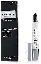 Düfte, Parfümerie und Kosmetik 3in1 Pflegendes Lippenbalsam-Öl mit Hyaluronsäure - Filorga Nutri-Filler Lips