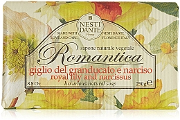 Düfte, Parfümerie und Kosmetik Naturseife Royal Lily & Narcissus - Nesti Dante Natural Soap Romantica Collection