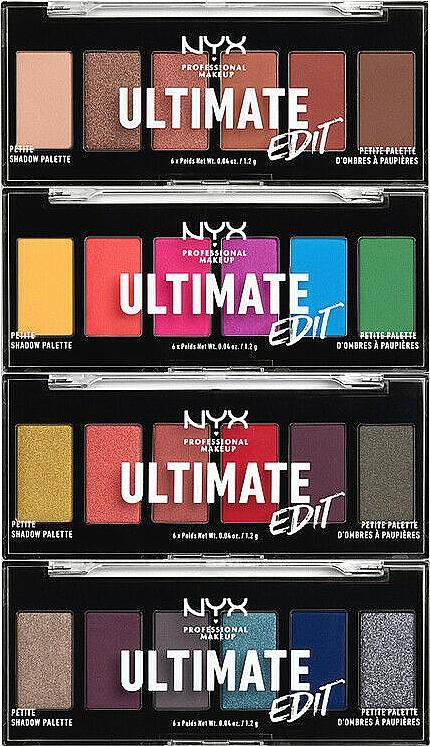 Lidschattenpalette - NYX Professional Makeup Ultimate Edit Petite Shadow Palette