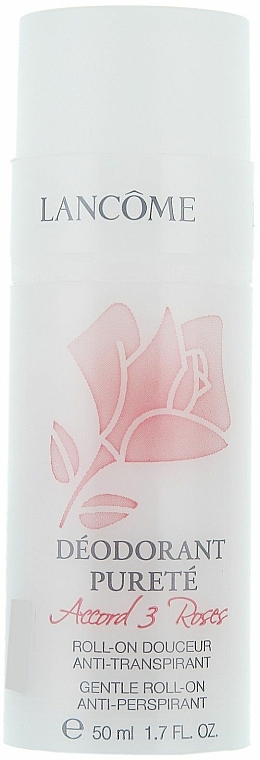 Roll-on Antiperspirant Deodorant - Lancome Accord 3 Roses Gentle Roll-On Anti-Perspirant