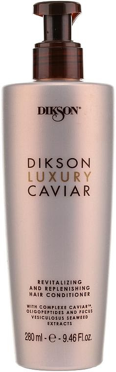 Revitalisierende Haarspülung mit Kaviar-Komplex und Algen-Extrakt - Dikson Luxury Caviar Revitalizing and Replenishing Conditioner