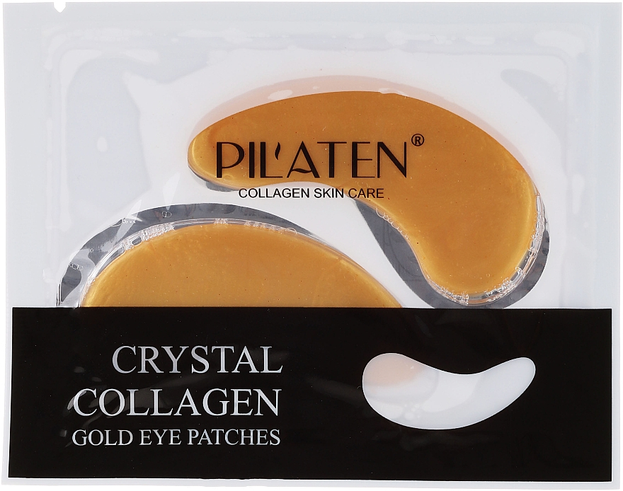 Gel-Augenpatches mit Kollagen - Pilaten Crystal Collagen Gold Eye Mask