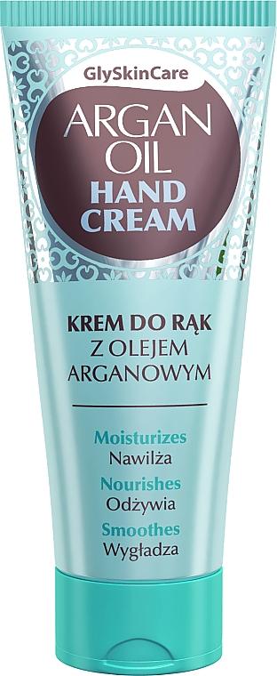 Beruhigende Handcreme mit Arganöl - GlySkinCare Argan Oil Hand Cream