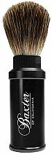 Düfte, Parfümerie und Kosmetik Rasierpinsel - Baxter Professional Travel Brush Pure Badger
