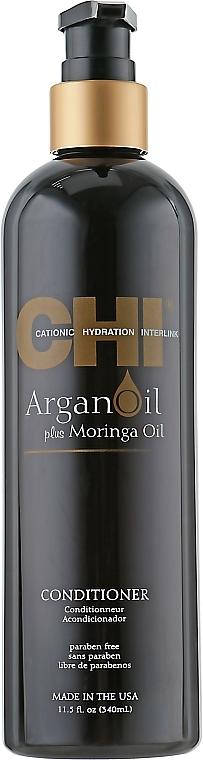 Pflegende und schützende Haarspülung mit Moringa- und Arganöl - CHI Argan Oil Conditioner