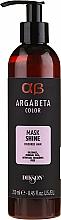 Düfte, Parfümerie und Kosmetik Pflegende Maske für gefärbtes Haar - Dikson Argabeta Color Mask Shine