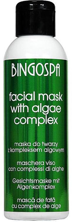 Gesichtsmaske mit Algenextrakt - BingoSpa