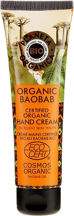 Stärkende Handcreme mit Bio Boababöl - Planeta Organica Organic Baobab Hand Cream