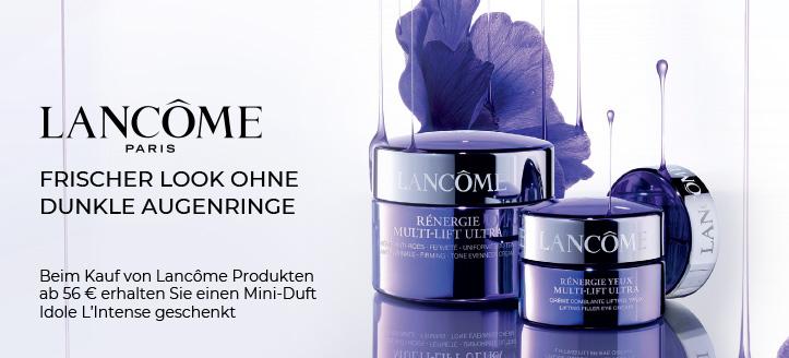 Beim Kauf von Lancôme Produkten ab 56 € erhalten Sie einen Mini-Duft Idole L'Intense geschenkt