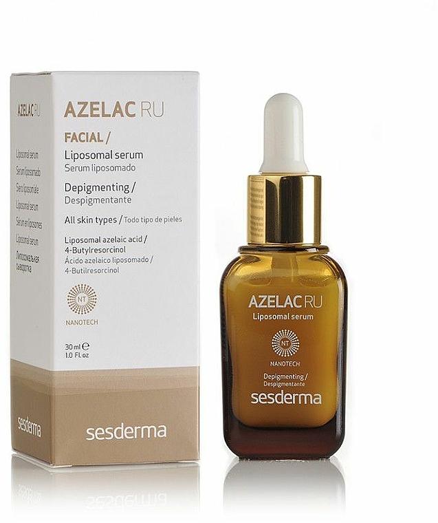 Liposomales Gesichtsserum gegen Pigmentflecken - SesDerma Laboratories Azelac Ru Liposomal Serum
