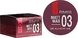 Düfte, Parfümerie und Kosmetik Mattes Haarwachs Starker Halt - Salerm Matt Wax