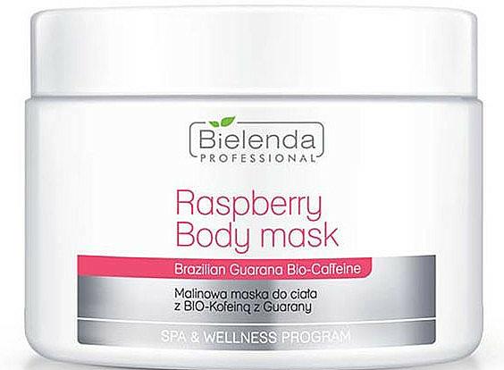 Körpermaske mit Himbeere, Guarana und Koffein - Bielenda Professional Raspberry With Guarana Bio-Caffeine Body Mask — Bild N1
