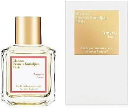 Düfte, Parfümerie und Kosmetik Maison Francis Kurkdjian Amyris Femme - Parfümiertes Körperöl