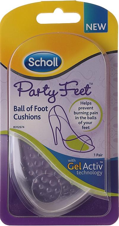 Geleinlagen gegen Rutschen und Druckschmerz - Scholl Party Feet Ultra Slim Invisible Gel Cushions