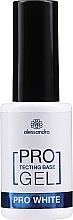 Düfte, Parfümerie und Kosmetik Naturnagelverstärkung - Alessandro International Protectig Base Gel Pro White