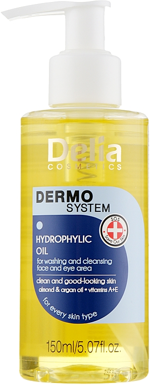 Dermo System Delia - Hydrophiles Waschöl für Gesicht und Augenpartie